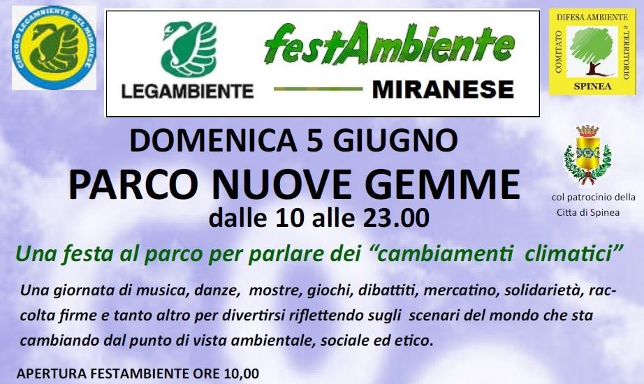 RIQUADRO per Facebook FestAmbiente 2016