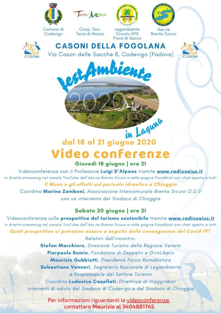 Festambiente 2020 - Videoconferenze