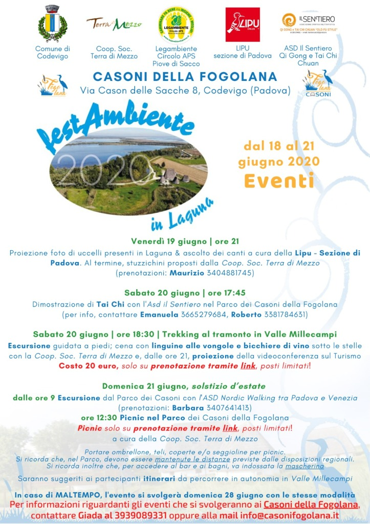 Festambiente 2020 calendario eventi